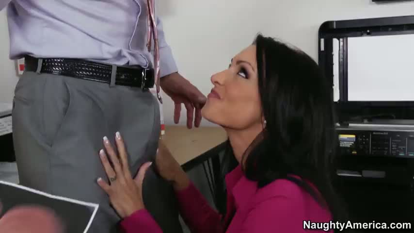 Blow Job At Work