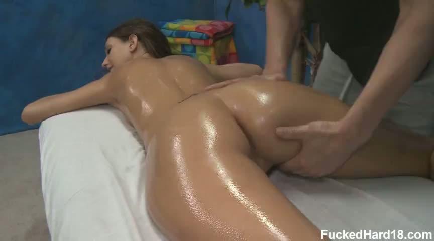 Asshole massage porno