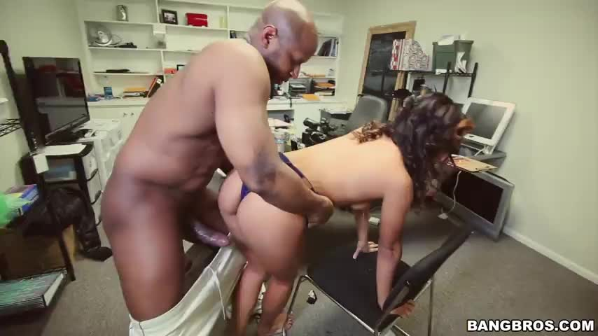 For big black office sex