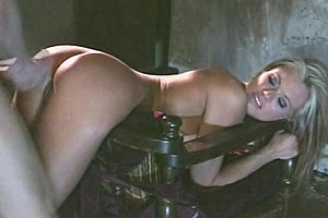 Briana Banks moans of pleasure. Ass cumshot