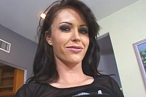 Brunette bitch Jenna Presley fucking and squirting
